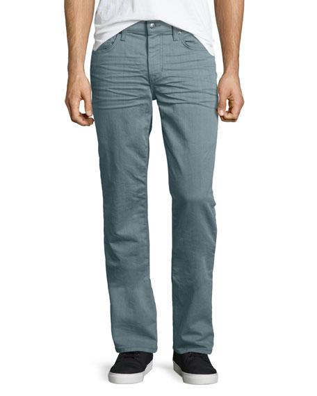 Joe's Jeans Brixton Sage Resin Denim Jeans, Light Green