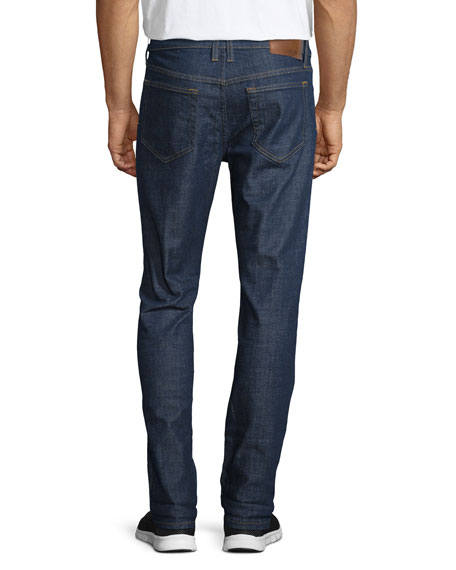 Men's Rude Boy Clean Denim Jeans, Navy