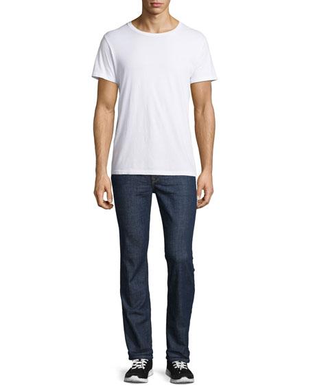 Rude Boy Clean Denim Jeans, Navy