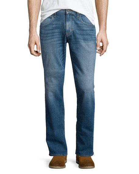 Hudson Jeans Byron Straight-Leg Denim Jeans, Light Blue