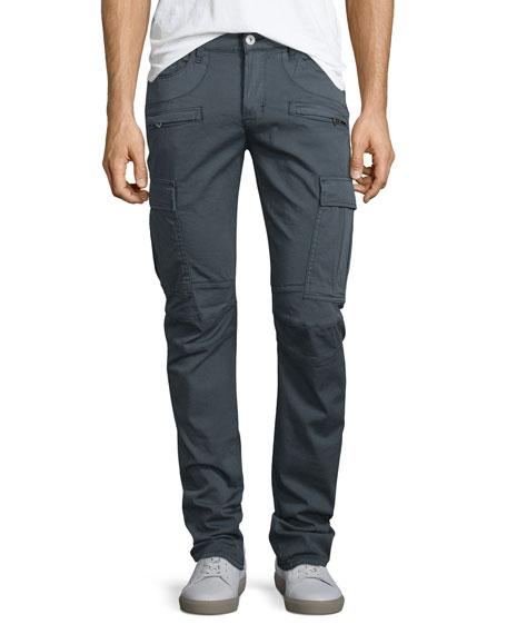 Hudson Jeans Greyson Cargo Biker Jeans, Navy