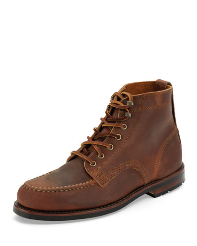 Sawyer USA Moc Toe Boot, Chestnut