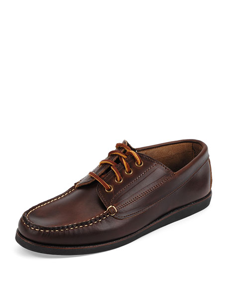 Eastland Made in MaineFalmouth USA Leather Lace-Up Moccasin,