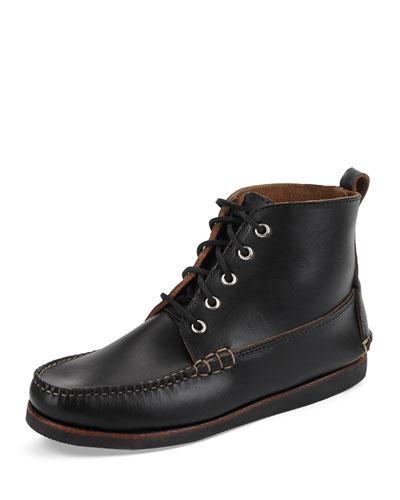 Seneca USA Camp Moc Chukka Boot, Black