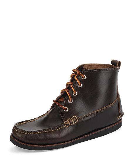 Seneca USA Camp Moc Chukka Boots, Dark Olive