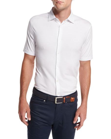 Peter Millar Collection Perfect Piqué Short-Sleeve Shirt,
