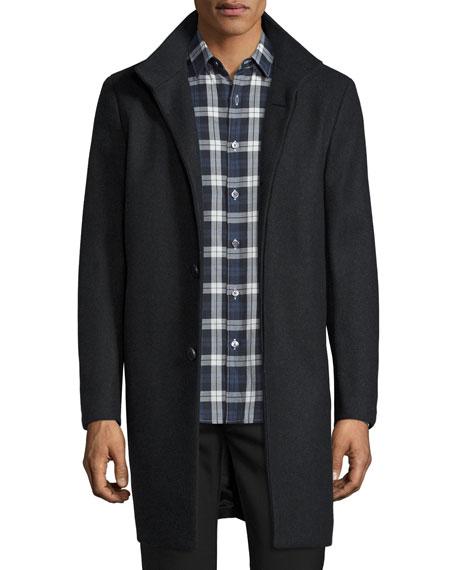 Belvin Single-Breasted Coat