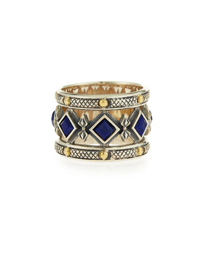 Blue Lapis Band Ring
