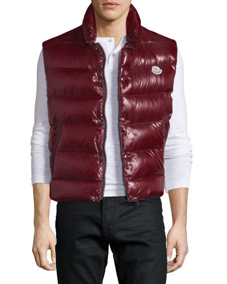 Tib Shiny Puffer Vest