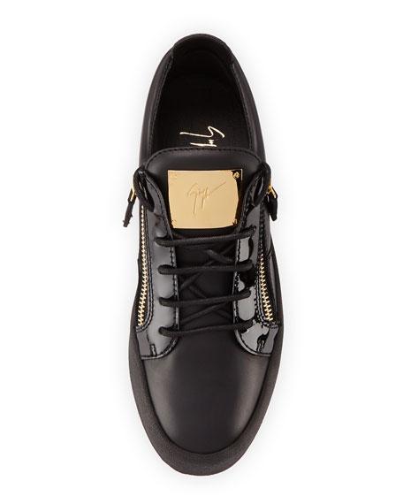 Men's Leather Low Top Sneaker,