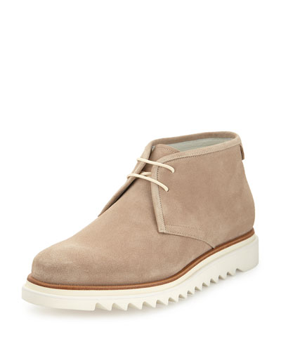 Lagos Suede Chukka Boot on Archival Sole, Tan