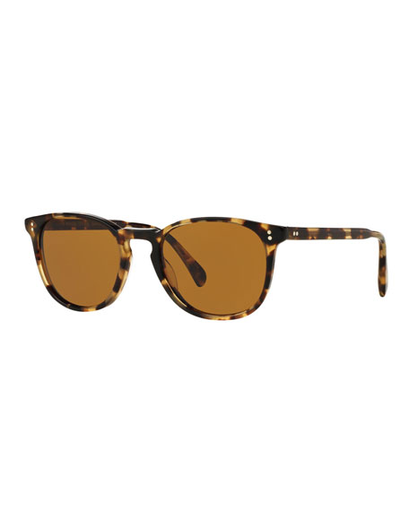 Oliver Peoples Finley Esq. 51 Acetate Sunglasses, Light