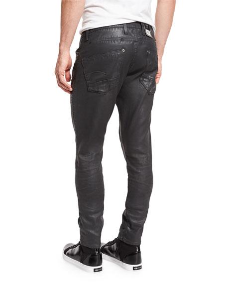 Revend Super-Slim Coated Jeans, Cobbler Restored 93