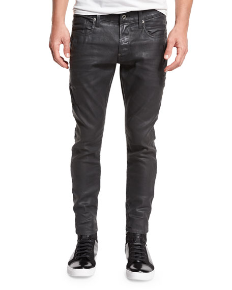 G-Star Revend Super-Slim Coated Jeans, Cobbler Restored 93