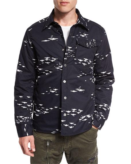 G-Star 3301 Padded Long Overshirt