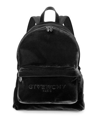 Men's Velvet Logo Backpack, Black