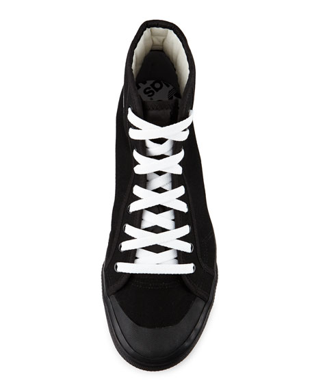 Matrix Spirit Men's High-Top Sneaker, Black/White