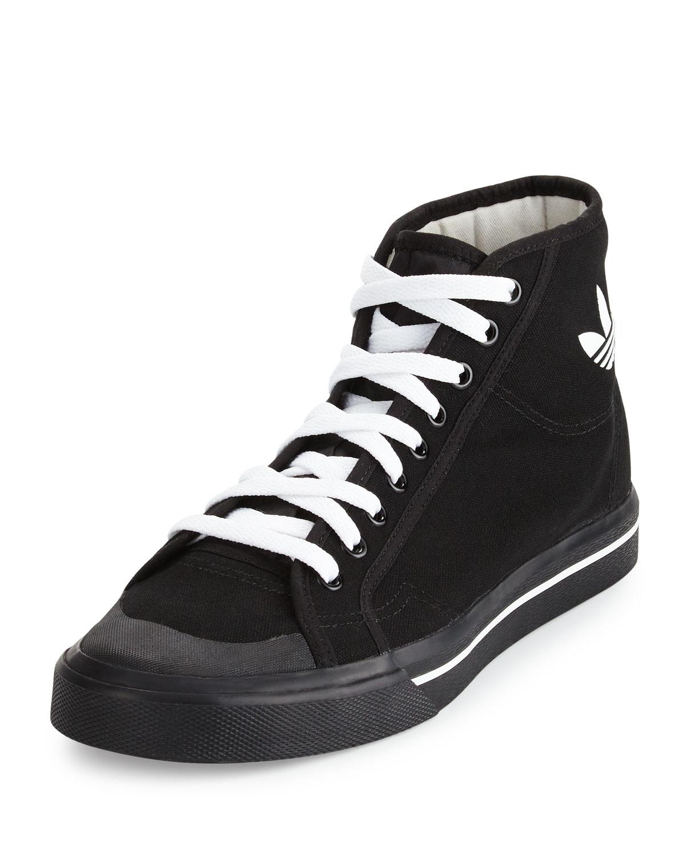 Matrix Spirit Men's High Top Sneakers, BlackWhite