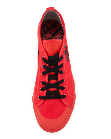 Matrix Spirit Men's Low-Top Sneaker, Red/Black