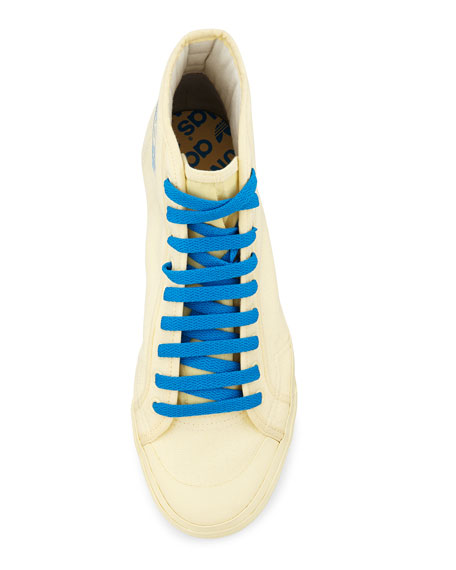 Matrix Spirit High-Top Sneaker, Yellow/Blue