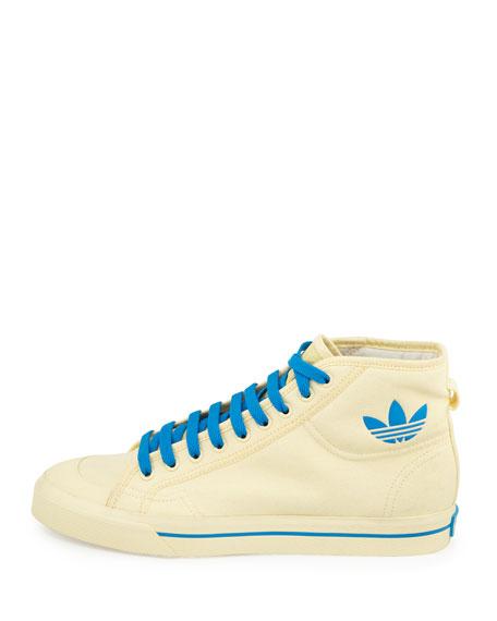 Matrix Spirit High-Top Sneaker, Yellow/Blue