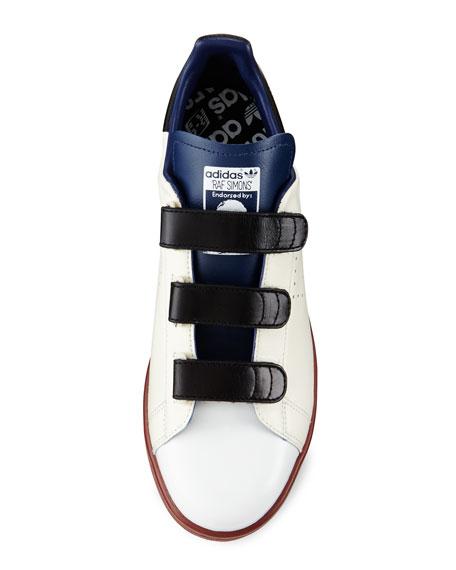 Stan Smith Triple-Strap Colorblock Sneaker, Cream/Blue/Brown