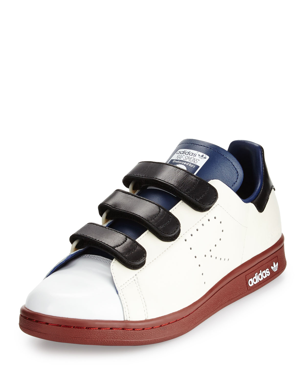 Smith By Colorblock Stan Raf Simons Strap Adidas Sneaker Triple PIAOqRw