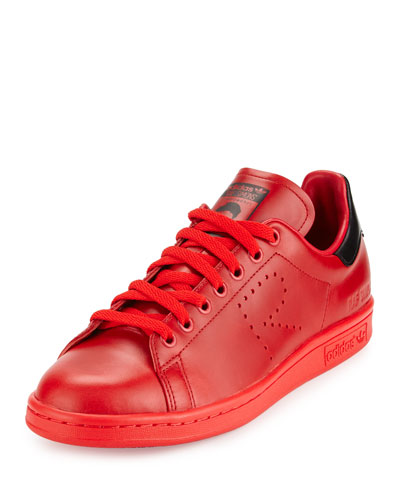 Stan Smith Leather Sneaker, Red
