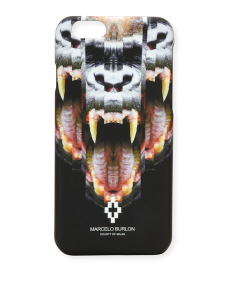Marcelo Burlon Las Tortolas iPhone 6 Case, Black