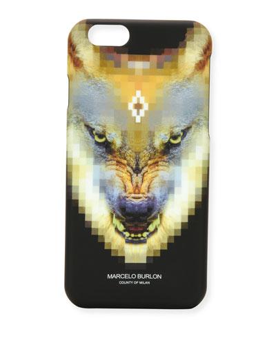 Incahuasi Printed iPhone 6 Phone Case, Black