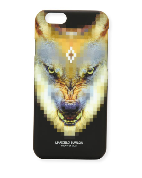 Marcelo Burlon Incahuasi Printed iPhone 6 Phone Case,