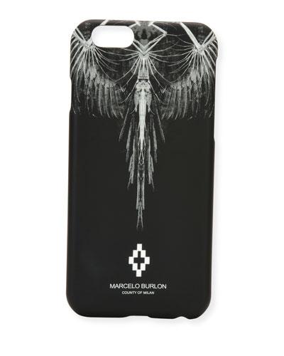 Antofalla Feather iPhone 6 Case, Black