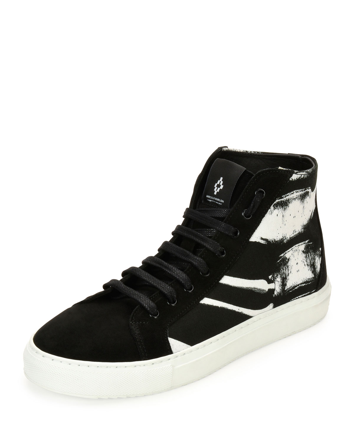 MARCELO BURLON High Top Sneakers w/ Tags