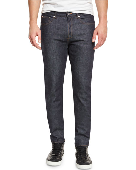 Givenchy New Rico Slim-Fit Denim Jeans, Blue