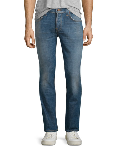 Nudie Grim Tim Douglas Replica Slim Jeans, Blue