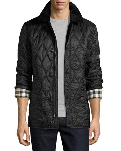 Men's Quilted Jackets & Puffer Coats at Neiman Marcus : men quilted coat - Adamdwight.com