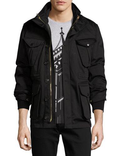 Sympson 3-in-1 Field Jacket, Black