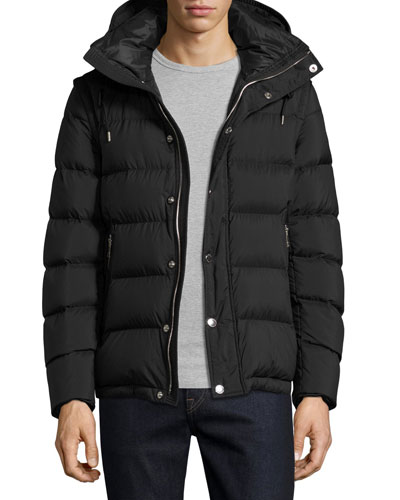 Basford 2-in-1 Puffer Jacket, Black