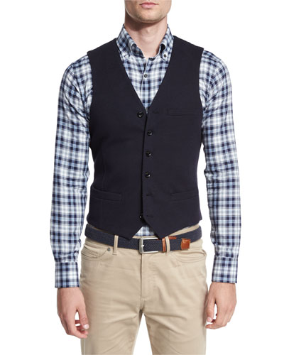 Yorkshire Cotton-Blend Waistcoat