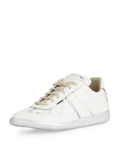 Replica Metal-Trim Low-Top Sneaker