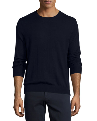 Featherweight Crewneck Sweater, Coastal