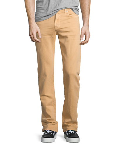 Luxe Performance: Slimmy Apricot Jeans