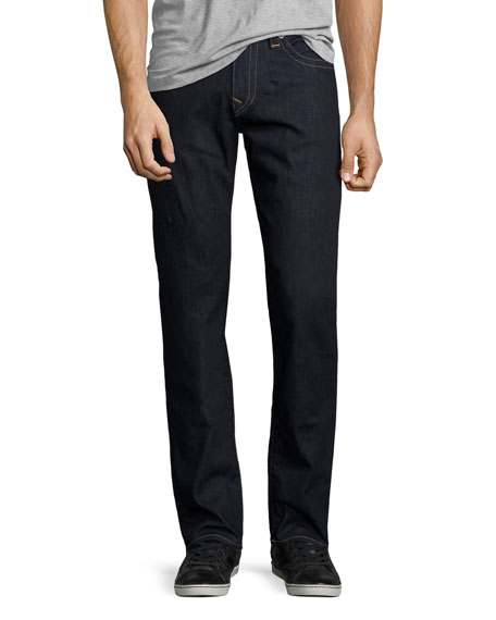 True ReligionGeno Straight-Leg Denim Jeans, 2S Body Rinse