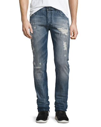 Tepphar 856X Denim Jeans, Blue