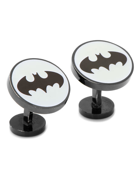 Cufflinks Inc. Batman Glow-In-The-Dark Enamel Cuff Links