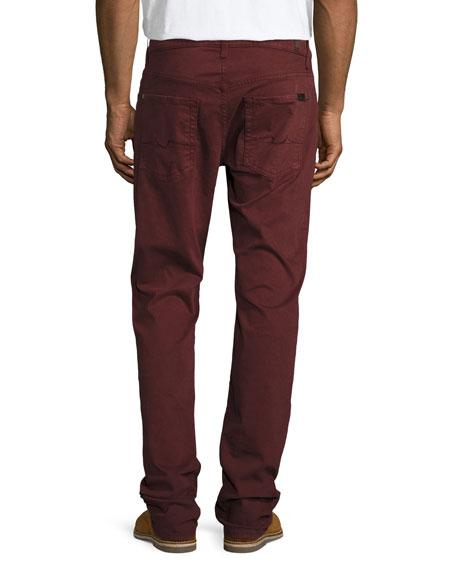 Men's Luxe Performance: Slimmy Chianti Jeans