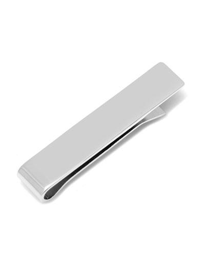 Sterling Silver Short Tie Bar