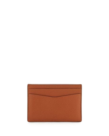 Boston Leather Card Case, Tan