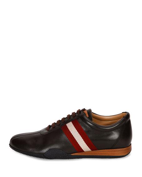 Men's Frenz Leather Low-Top Sneaker, Brown