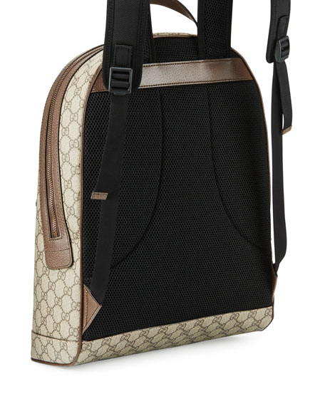 Men\u0027s Web Animalier Backpack with Bee